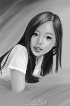 Another portrait study by Zeth-09