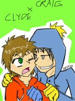 CRAIGxCLYDE by DragonRider13025