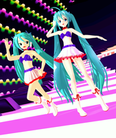 US 2011 Miku MMD by MMDPeaches