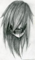 Jeff the killer (Detailed 2) by GhostPillow