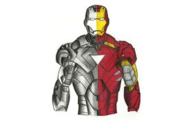 Iron man by EnergizerII