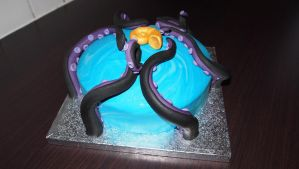 Ursula The Sea Witch cake by BevisMusson