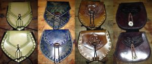 Saddlebags group by Leatherfanshop