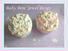 Baby Bow Jewel Boxes by Nika-N