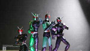 S.H. Figuarts Kamen Rider BLACK RX 2.0 Double by Digger318