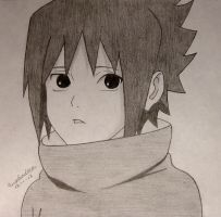 Little Sasuke by Euphadora