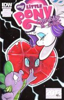 Broken Heart - MY LITTLE PONY #8 - Blank Cover by paradox-a-go-go