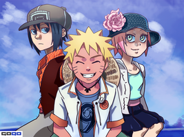 Naruto: Hats by Gintara