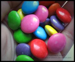 smarties. by purplerainistaken