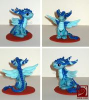 little blue dragon by Sayuri-Cruz