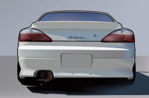 Silvia S15 by illustrated90
