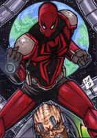 Spiderman PSC by Chris Foreman by chris-foreman