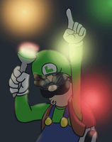 SWEET FLASHLIGHT RAVE PARTY by Nintendo-Nut1