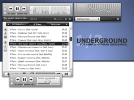 iTunes Underground 1.2 AIMP by Denisan91