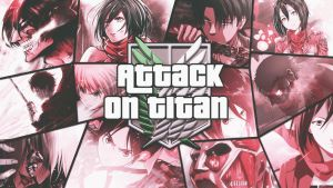 Attack on titan by Dinocojv