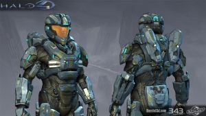 Halo 4: Air Assault armor by profchaos354