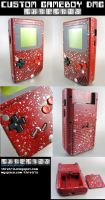 Custom painted gameboy Chrome by Thretris