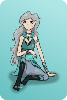 Silver Lady By Ithlini by HarbingerNovel