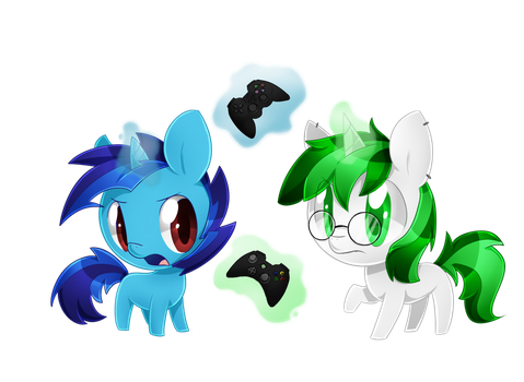 Commission: Console Wars by PegaSisters82
