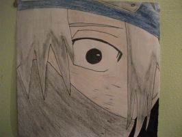 Kakashi as a child by lyrablaze