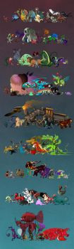 Monster Parade Part 1 by hellcorpceo