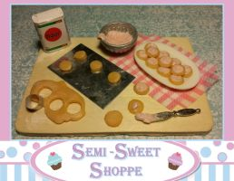 Pink Sugar Cookie Prep Board Magnet SOLD by ninja2of8