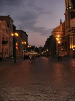 Night Street by Comacold-stock