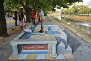 3D Street Art by oktal-Z