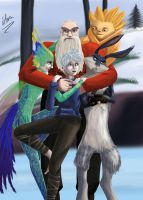 RotG - Group hug by RukaHimenoshi