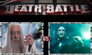 Gandalf the White vs. Lord Voldemort by ScarecrowsMainFan
