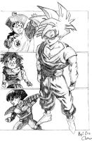 Son Gohan by Lord-of-the-dance