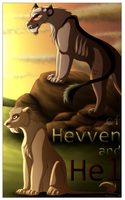 CE - of Hevven and Hel Comic Cover by Tanzani