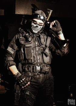 Call of Duty Ghost Cosplay by SPARTANalexandra