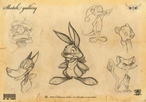 Sketch gallery toons by celaoxxx