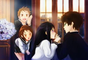 Hyouka - Confession! by Keleus