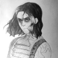 Bucky Barns by kijonaia