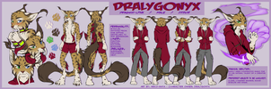 Dralygonyx Reference by Neko-Maya
