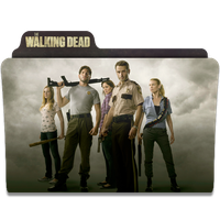 The Walking Dead Folder Icon by CHARGERLEVANI