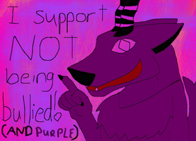 I support NOT being bullied by Paranormalmoon