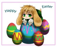 APH - Happy Easter by Momiji95