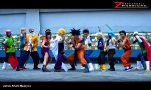 Z Warriors cosplay Fight Mode by jeffbedash325