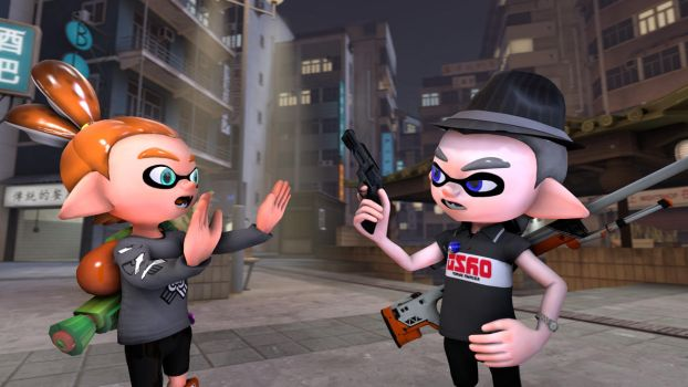 Gosh, don't use that in Splatoon matches by G-ManMobius
