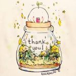 Thank you 1k+! by KawaKeiko