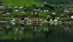 Sailing the fjords to Skjolden 59 by abelamario