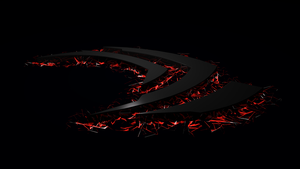Nvidia Brake  (Black/Red) by Kasjopaja87