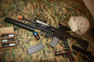The Marine Spec M4 load out by Scarlet-Impaler