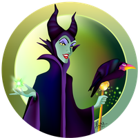 Maleficent by Nimily
