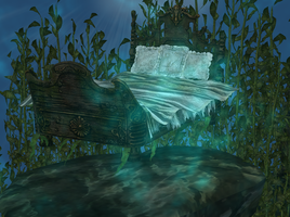 Come to sleep in the big blue deep by tombraider4ever