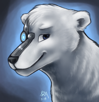 Polarus Portrait by Blairaptor