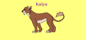 Kayia, leader of the Pride of Setting Sun by HonchoFreddy